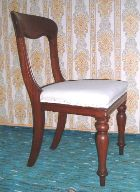 Wanted Early Victorian mahogany dining chairs