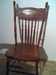 I am looking for wood dining chair