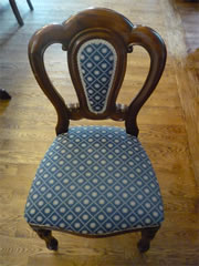 Wanted Mahogany spoonback dining chair. 2 required